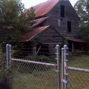 Yates Mill in disrepair
