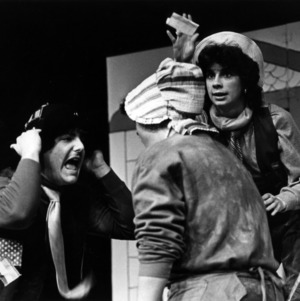 Scene from play Feudin in Frog Pond
