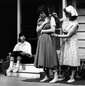 Scene from the play The Picnic
