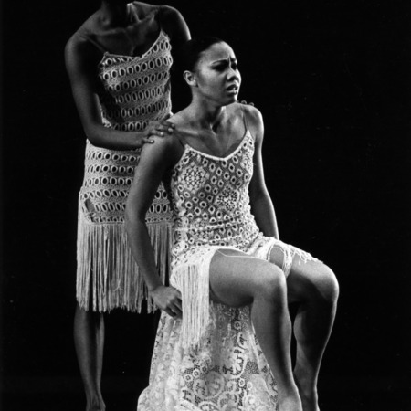 Alvin Ailey dancers performing on stage
