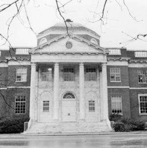 Front view of Brooks Hall