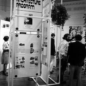 Exhibition highlighting the landscape architecture program
