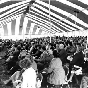Attendees at Dedication Ceremony