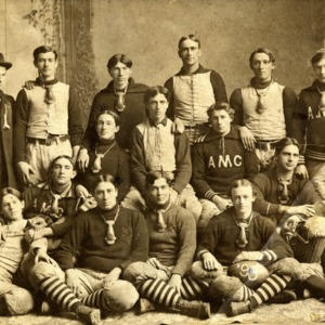 A and M College Football Team, 1898, First Football Team to tie UNC