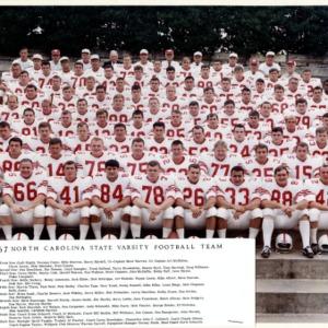 North Carolina State University Varsity Football Team
