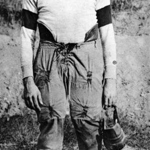 A & M College football player John H. Ripple