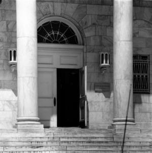 Brooks Hall Entrance
