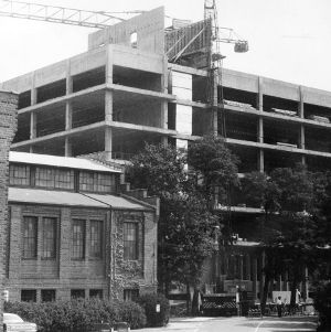 Poe Hall Under Construction