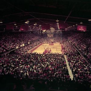 Full house at Reynolds Coliseum