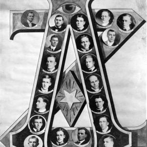 Members of the Alpha Zeta Fraternity