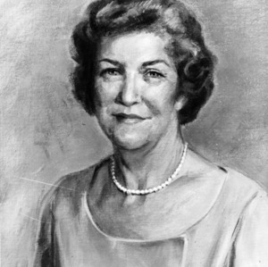 Painted portrait of Ruth Current