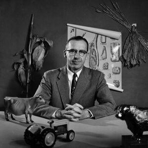 Dean W. Colvard portrait