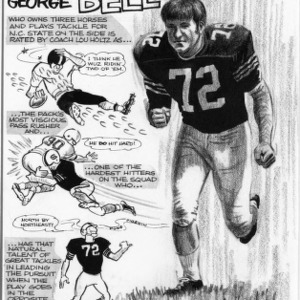 Cowboy George Bell cartoon profile