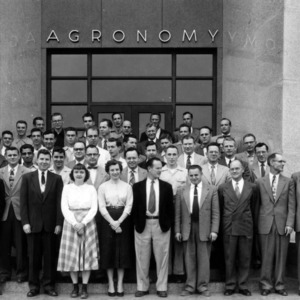Agronomy Department staff and graduate students