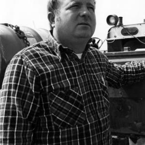 Young farmer Randy L. McCullen, building his farming career