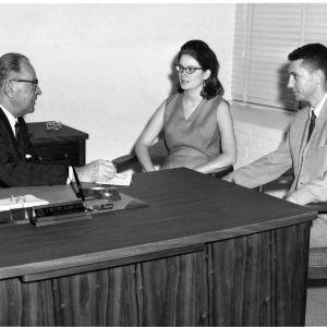 Dean J. Bryant Kirkland and students