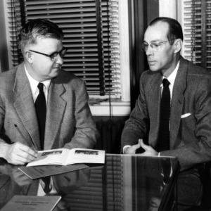 Edward W. Ruggles and James I. Mason of the Gaston Technical Institute