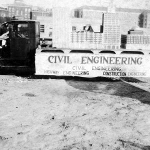Civil Engineering Float at Engineers Fair