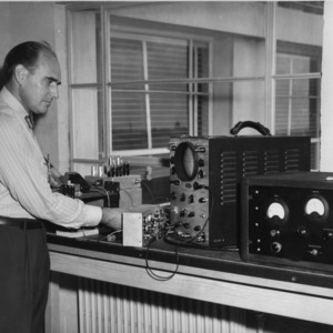 Dr. Victor S. Carson conducting research on Granpa project