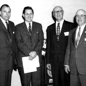Robert Lassiter, William C. Friday, N. A. Karl, and J. N. Lampe