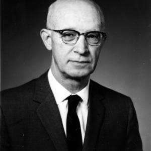 Professor Norval W. Conner portrait