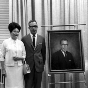 Unveiling of Ralph E. Fadum's portrait