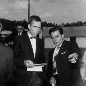Ralph E. Fadum with group