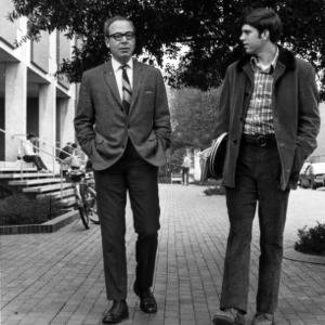 Ralph E. Fadum and student