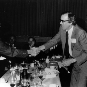 James K. Ferrell and others at awards dinner