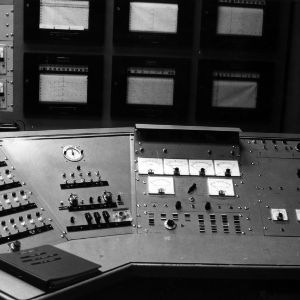 Control panel for Original Nuclear Reactor in Burlington Laboratory