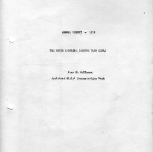 Annual report - 1912