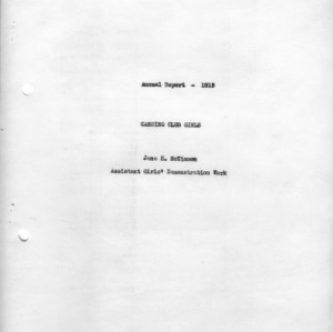 Annual report - 1913