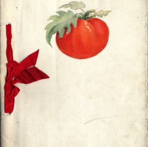 1913 girl's club, tomato club booklet by Norris, Lizzie