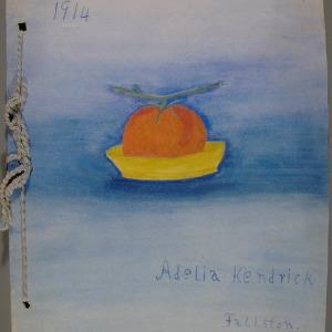 1914, girls club, tomato club booklet by Kendrick, Adelia