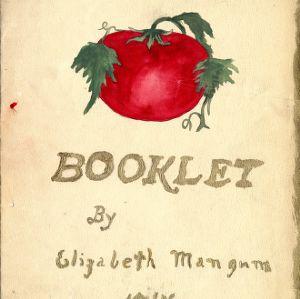 Booklet by Elizabeth Mangum, 1914