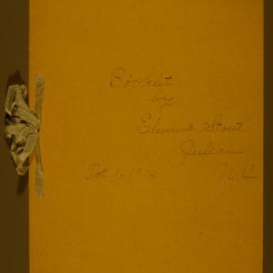 Booklet by Elmira Stout