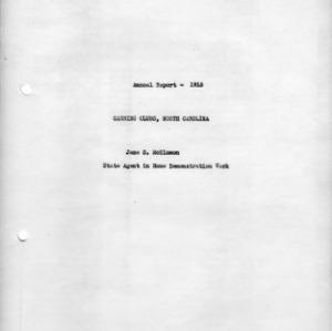 Annual report - 1915