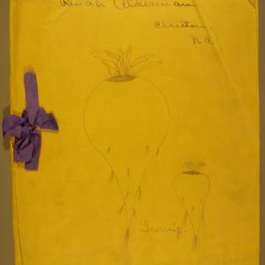 1915 girl's club, tomato club booklet by Alderman, Revah