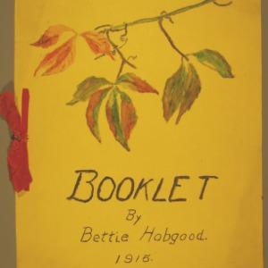 Booklet by Bettie Hobgood