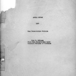 Annual report 1927