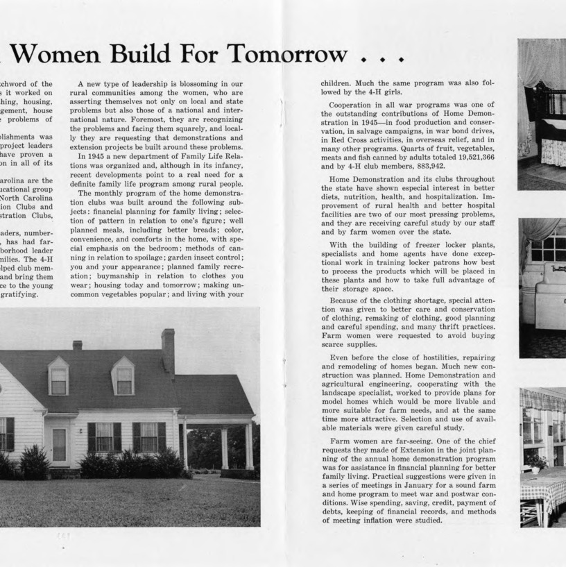 Farm women build for tomorrow... (Excerpt)