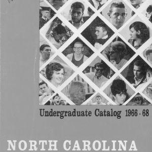 North Carolina State University Undergraduate Catalog, 1966-1968 (North Carolina State College Record Vol. 66, No. 6)