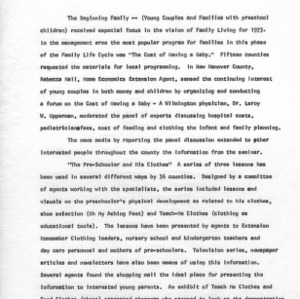 1973 annual report impact '76