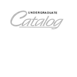North Carolina State University Undergraduate Catalog, 1995-1997