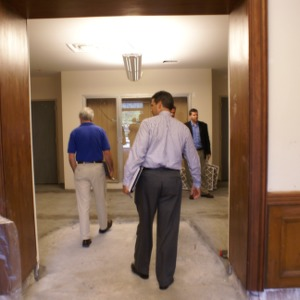 Withers Hall renovations, interior walk through