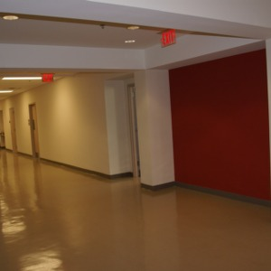 Withers Hall, hallway