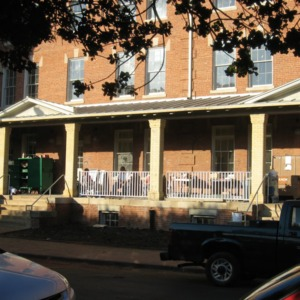 1911 Building renovations, front porch