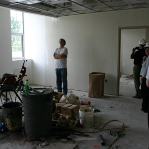 Touring Withers Hall interior renovations