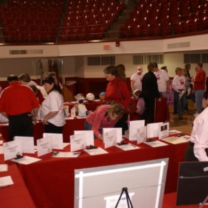 Hoops for Hope silent auction