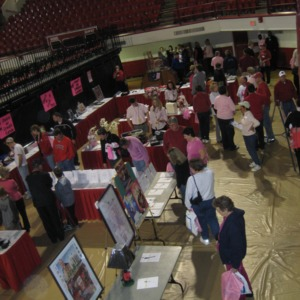 Silent Auction at Hoops for Hope